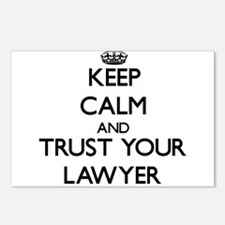 Keep Calm and Trust Your Lawyer Postcards (Package