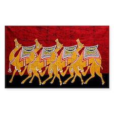 Indian Camel Parade Decal