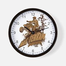 All Terrain Rocks Wall Clock