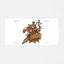 All Terrain Rocks Aluminum License Plate