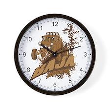 Baja Rocks Wall Clock