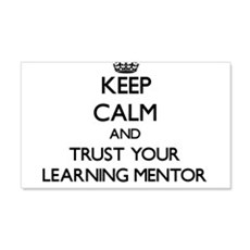 Keep Calm and Trust Your Learning Mentor Wall Deca