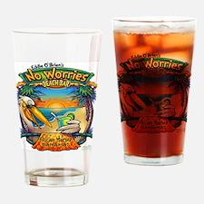NO WORRIES Drinking Glass