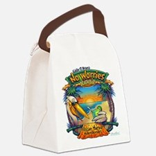 NO WORRIES Canvas Lunch Bag