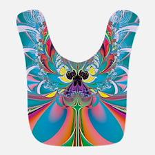 Abstract Art Summer Butterfly Bib