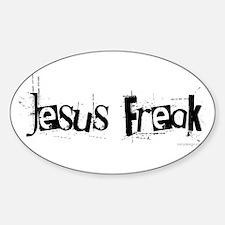 Unique Praise kids bible children church Sticker (Oval)