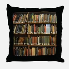 Bookshelves Throw Pillow