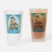 Royal Elephant Ride Drinking Glass
