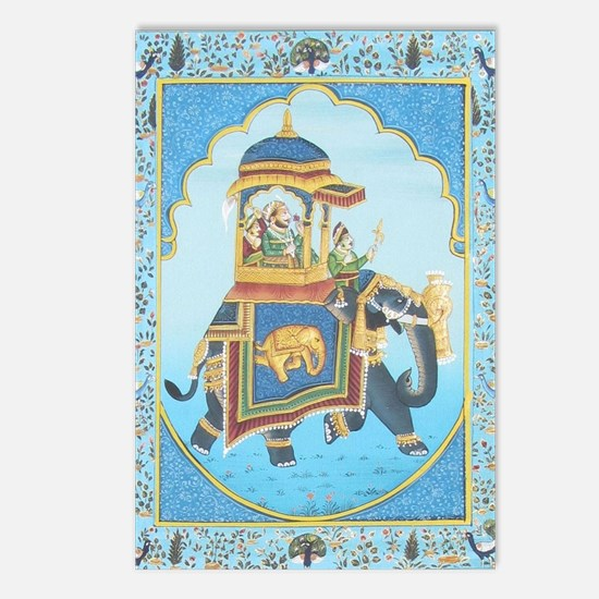 Royal Elephant Ride Postcards (Package of 8)
