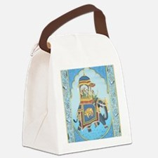 Royal Elephant Ride Canvas Lunch Bag