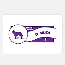 Make Mine Mudi Postcards (Package of 8)