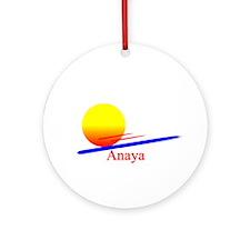 Anaya Ornament (Round)