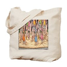 Saraswati Hindu Goddess Tote Bag