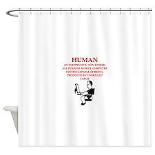 HUMAN Shower Curtain