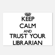 Keep Calm and Trust Your Librarian Postcards (Pack