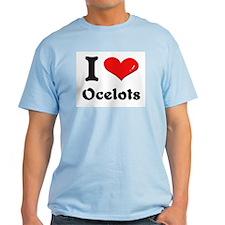 I love ocelots T-Shirt