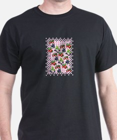 Berries and Gingham T-Shirt