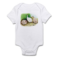 Guineafowl Trio2 Infant Bodysuit