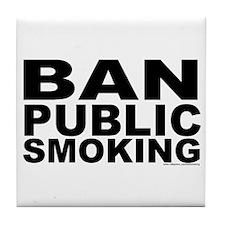 Tile Coaster: Ban Public Smoking
