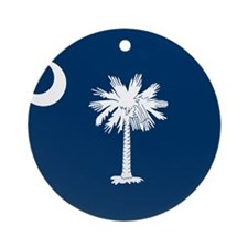 Flag of South Carolina Ornament (Round)