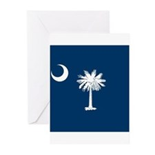 Flag of South Carolina Greeting Cards