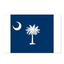 Flag of South Carolina Postcards (Package of 8)