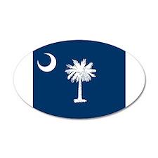 Flag of South Carolina Wall Sticker