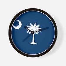Flag of South Carolina Wall Clock