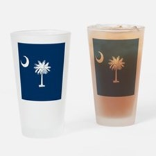 Flag of South Carolina Drinking Glass