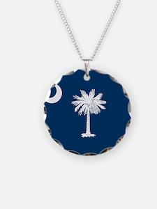 Flag of South Carolina Necklace