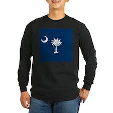 Flag of South Carolina Long Sleeve T-Shirt