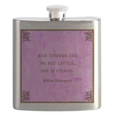And though she be but little she is fierce Flask