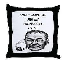 PROF Throw Pillow