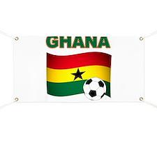 Ghana soccer Banner