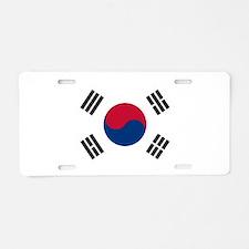 Flag of South Korea Aluminum License Plate