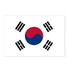 Flag of South Korea Postcards (Package of 8)