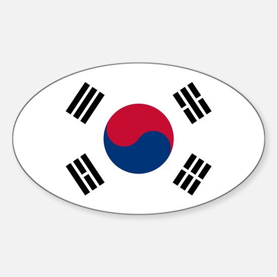Flag of South Korea Decal