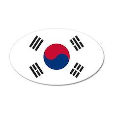 Flag of South Korea Wall Sticker