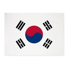 Flag of South Korea 5'x7'Area Rug