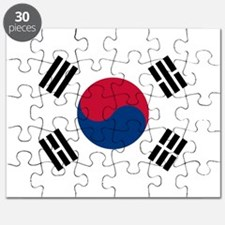 Flag of South Korea Puzzle