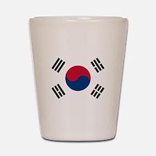Flag of South Korea Shot Glass