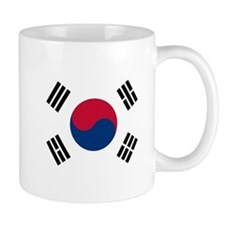 Flag of South Korea Mugs
