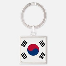 Flag of South Korea Keychains