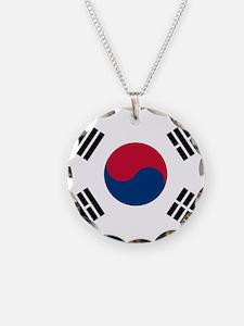 Flag of South Korea Necklace