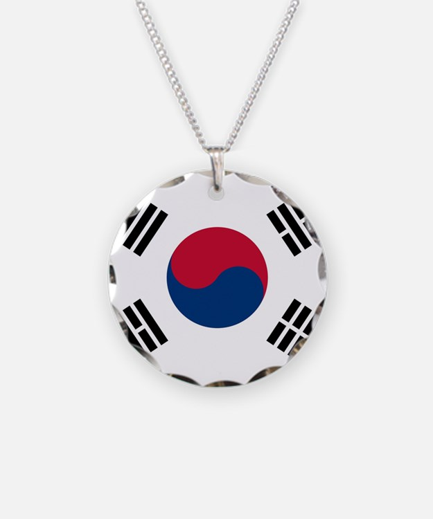 Korean Dog Tags, Necklace Charms/Pendants