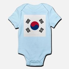 Flag of South Korea Body Suit