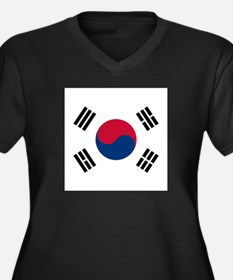 Flag of South Korea Plus Size T-Shirt