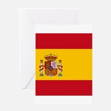 Flag of Spain Greeting Cards