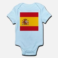 Flag of Spain Body Suit