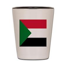 Flag of Sudan Shot Glass